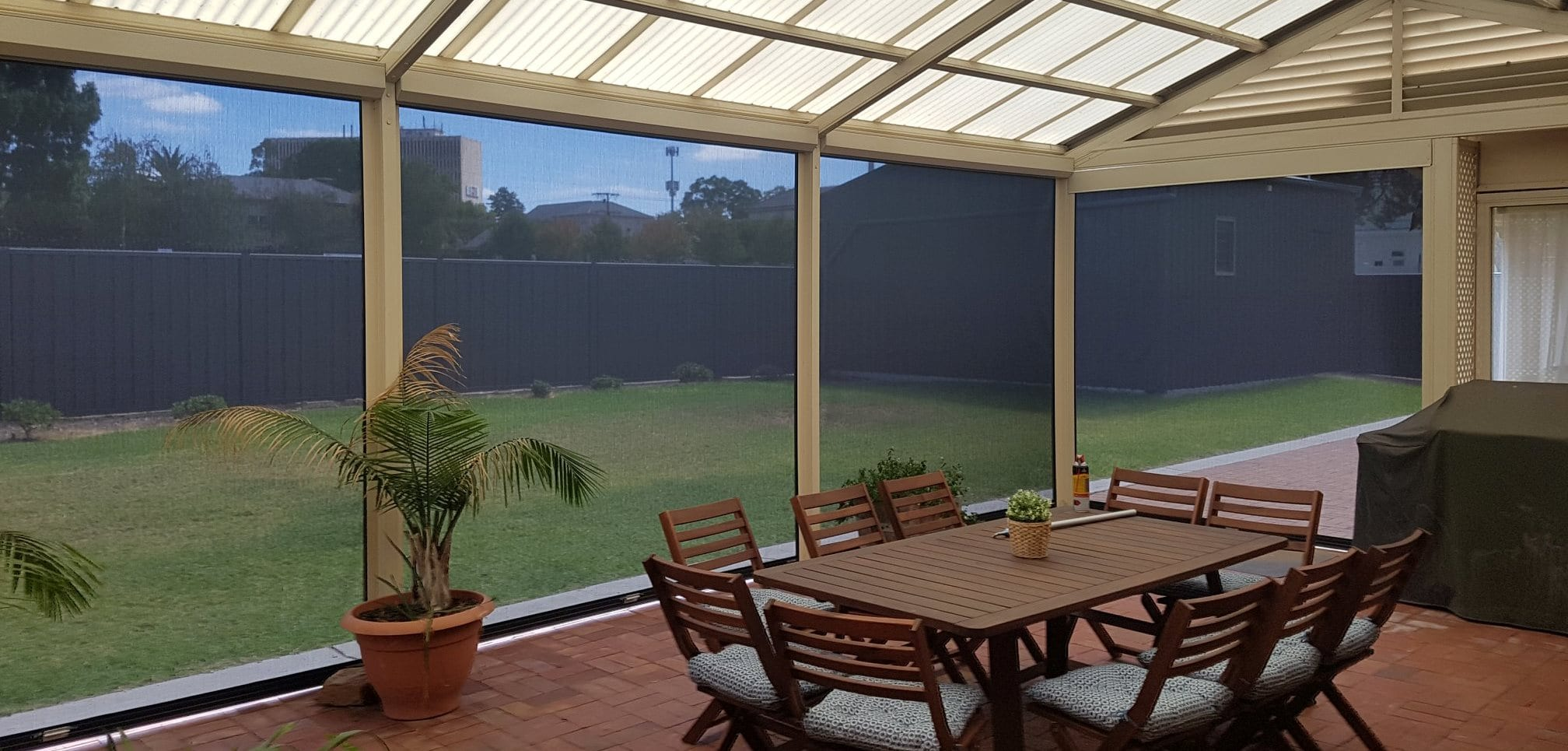 outdoor blinds adelaide sidetrack sliders