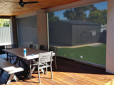 outdoor blinds -