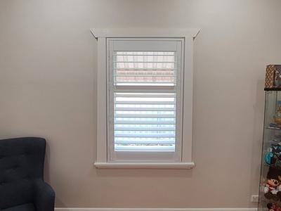 plantation shutters -