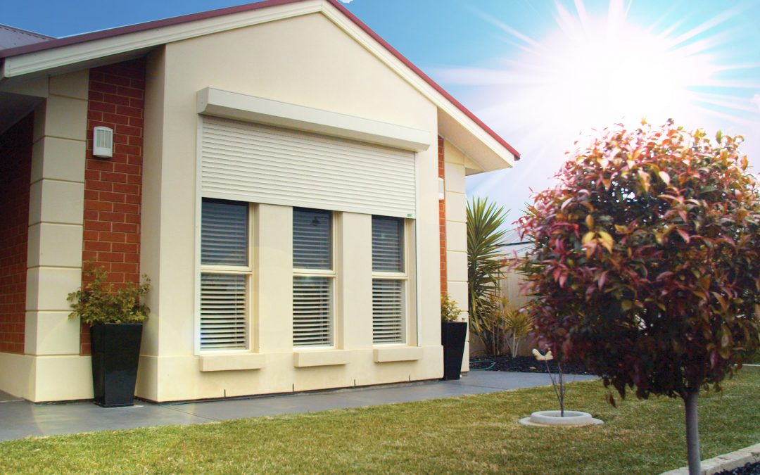 beat the heat with roller shutters